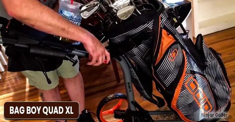 Bag Boy Quad XL review