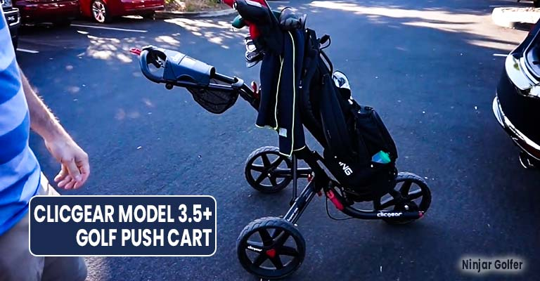 Clicgear Model 3.5+ Golf Push Cart Review