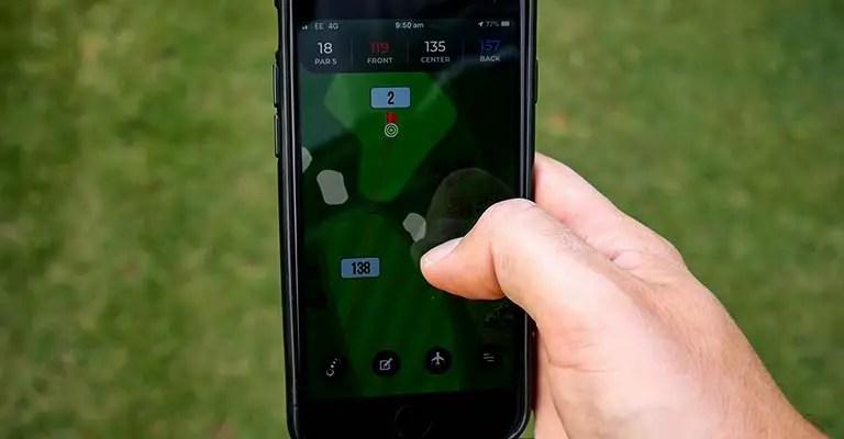GPS Golf Range Finder