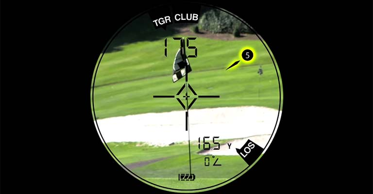 How to Read a Golf Rangefinder