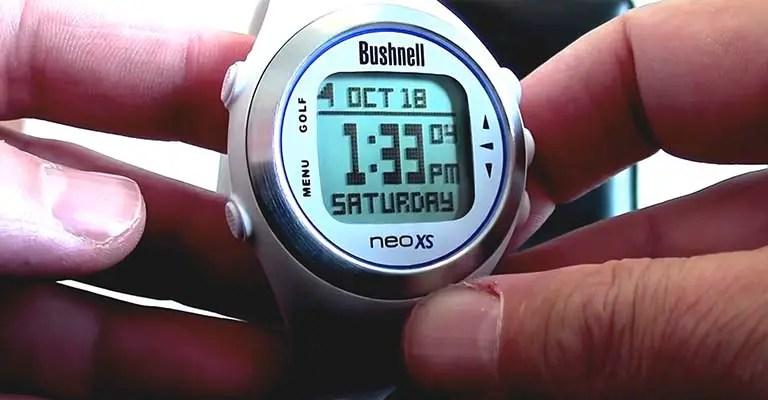 Updating Bushnell Neo XS