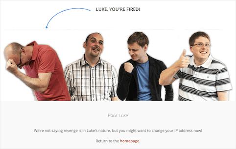 copywriting per pagine errore 404