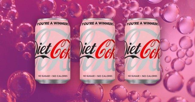 diet coke ninja marketing