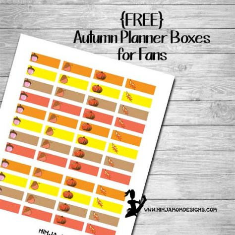 autumn freebie