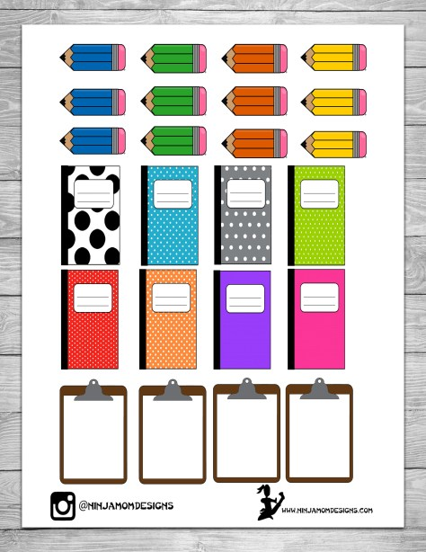 Free Pencils and Notebooks Cover 2
