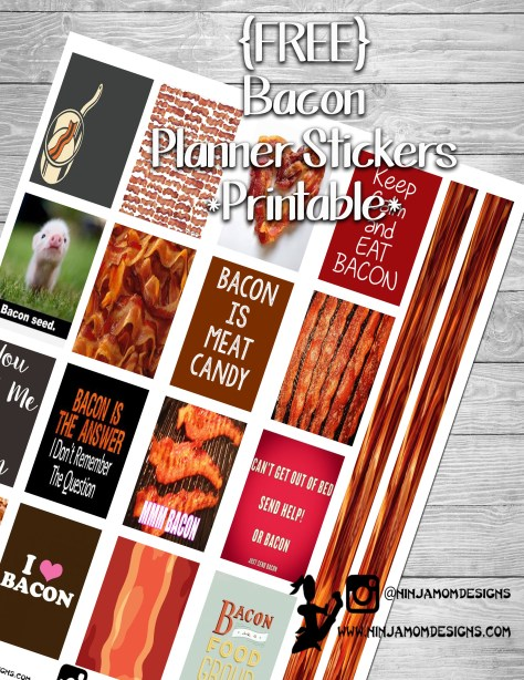 Free bacon cover