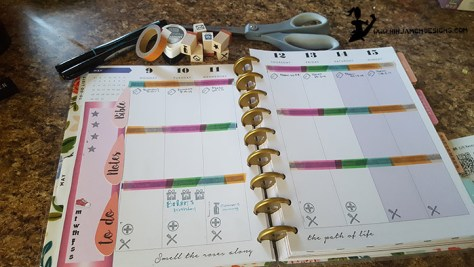 a look in my planner 2