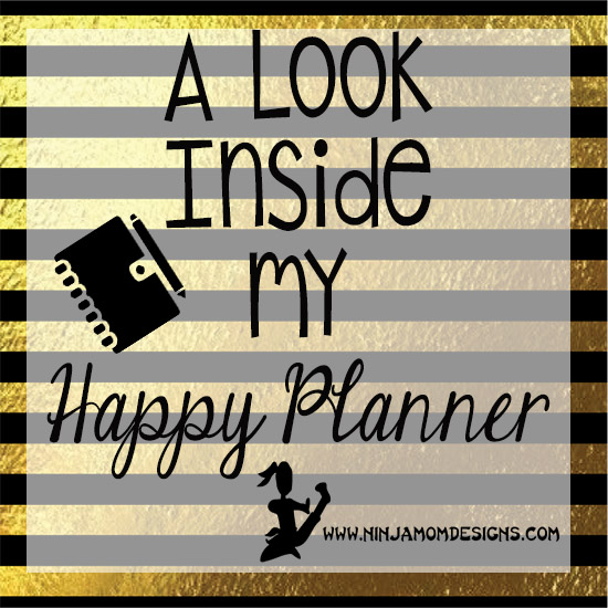 a look in my planner