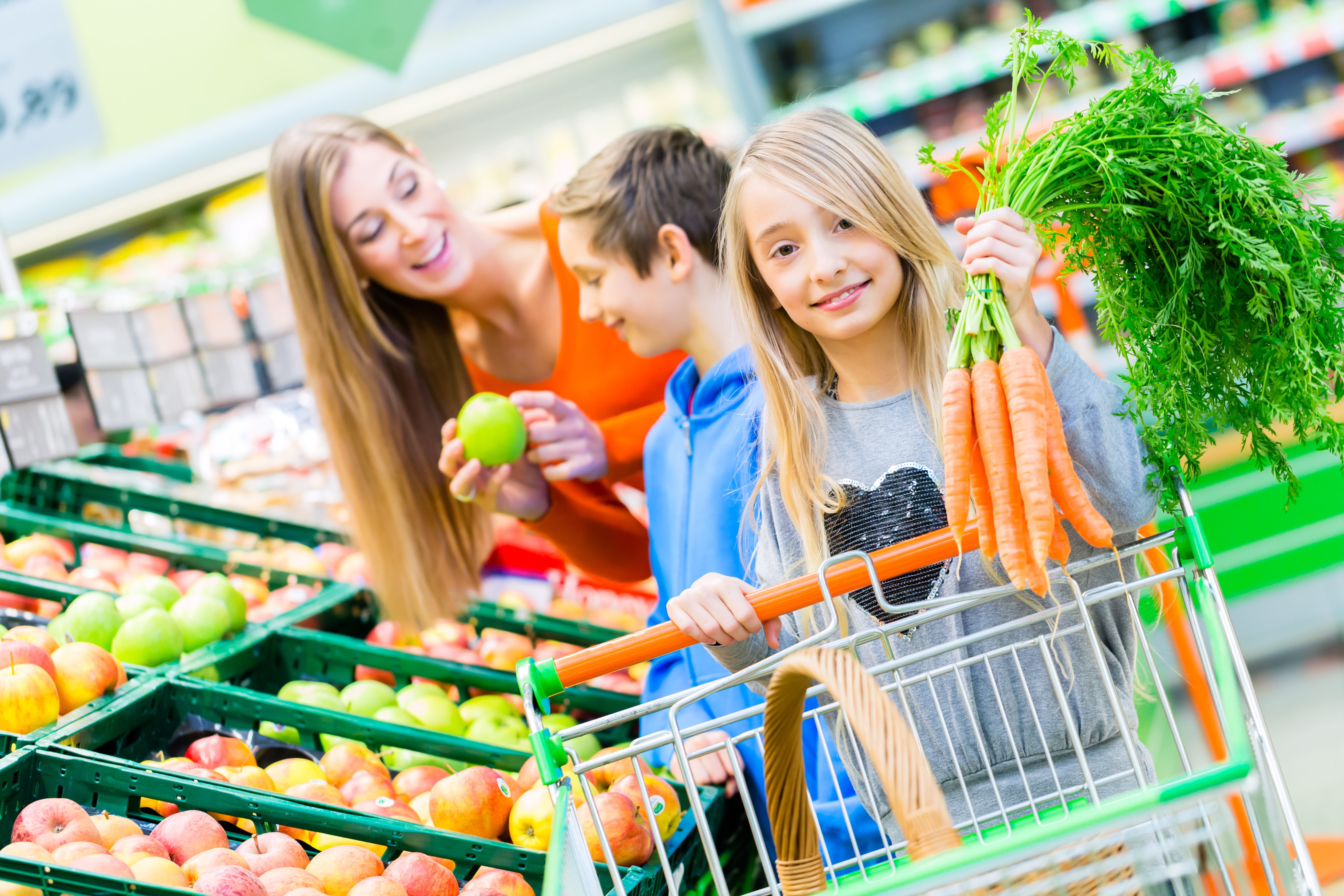 Grocery Shopping With Kids Inspire Them To Behave