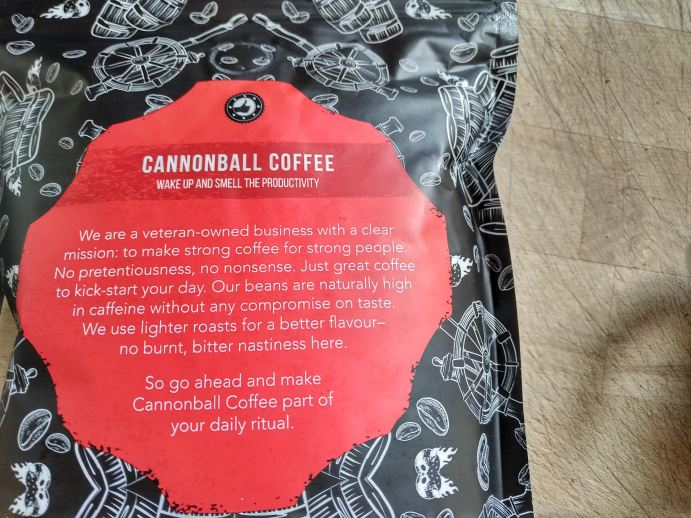 Cannonball coffee
