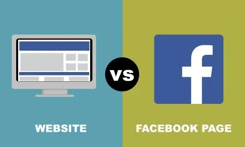 WEBSITE VS. FACEBOOK - WHICH ONE?