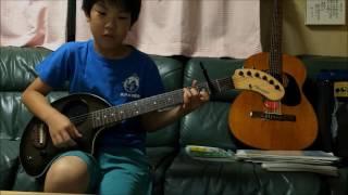 僕が僕であるために/尾崎豊 ギター弾き語り(11歳)