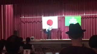 二宮駿介(13歳)中学校文化祭 オリジナル初披露