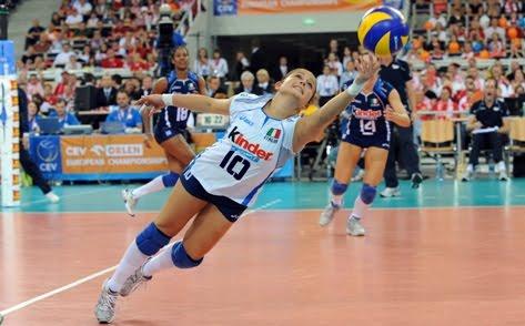 Entrenar la fase Recepción-Ataque en el voleibol