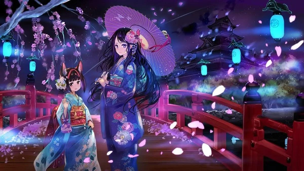 New Yomi wo Saku Hana gameplay