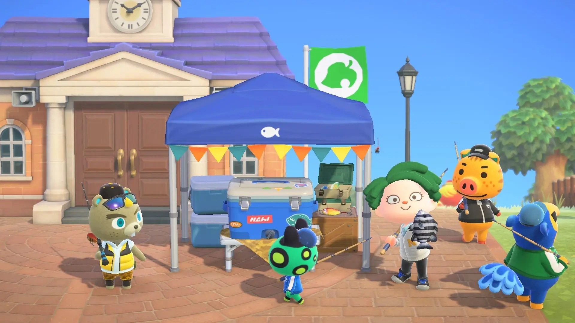 All about the new Fishing Tournament held today at Animal Crossing: New Horizons