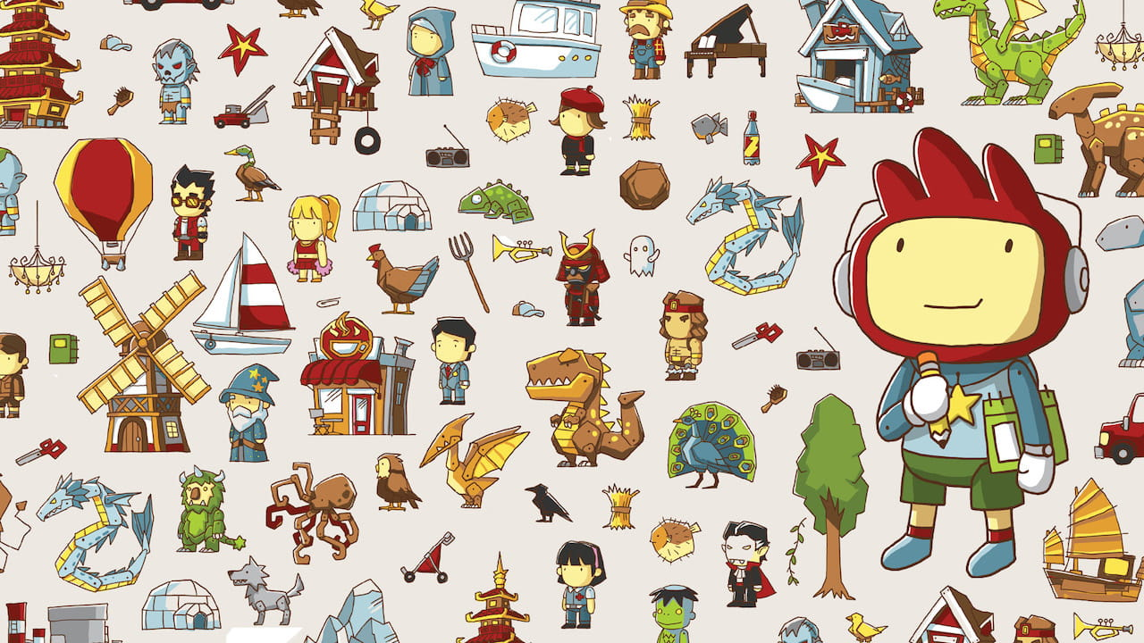 Scribblenauts Review Header
