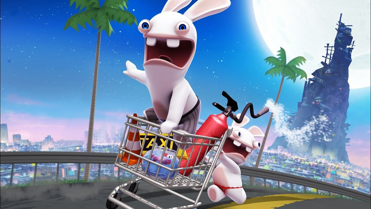 Rabbids Go Home Review Header