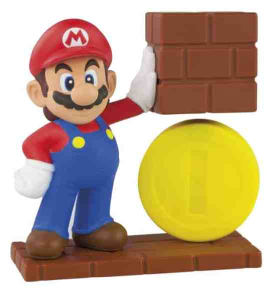 Mario's Hovering Coin McDonald's Toy