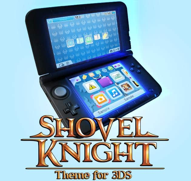 Shovel Knight uncovers a Nintendo 3DS Home Menu Theme – Nintendo Insider