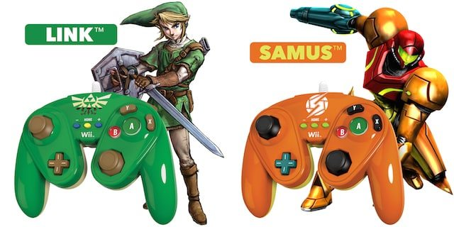 link-samus-wired-fight-pad