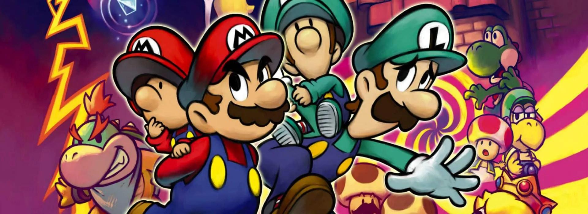 Mario Luigi Partners In Time Review Wii U Nintendo