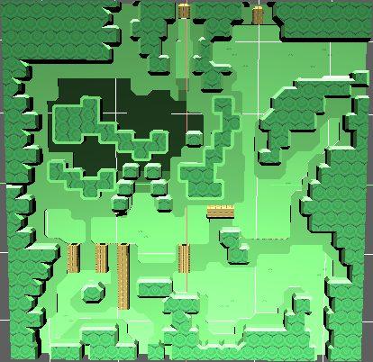 zelda-a-link-between-worlds-lost-woods