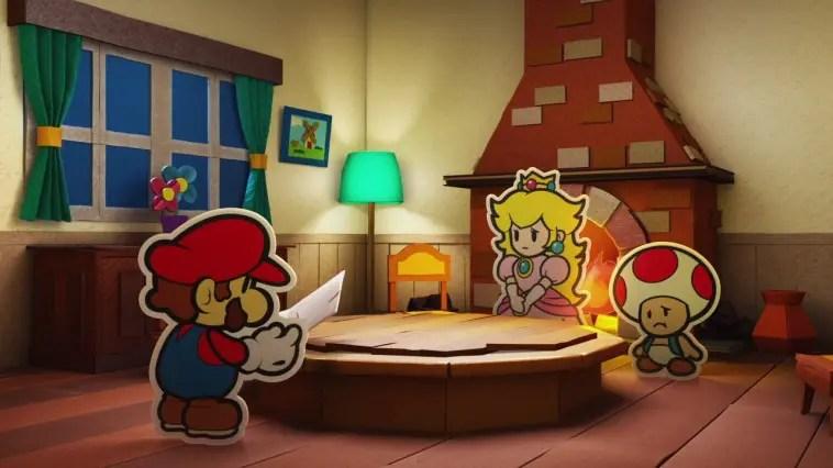 Paper Mario: Color Splash Review Screenshot 1