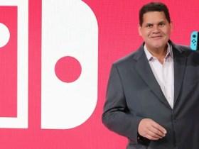 Reggie Fils-Aime Nintendo Switch