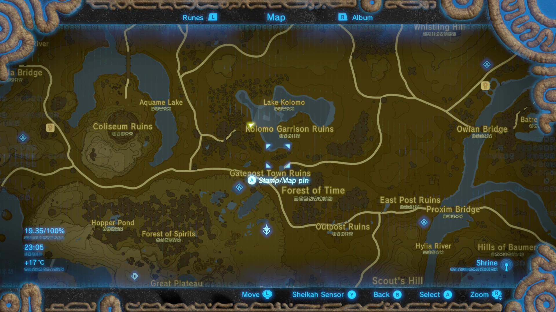 All Memory Locations In The Legend Of Zelda Breath Of The Wild Nintendo Insider