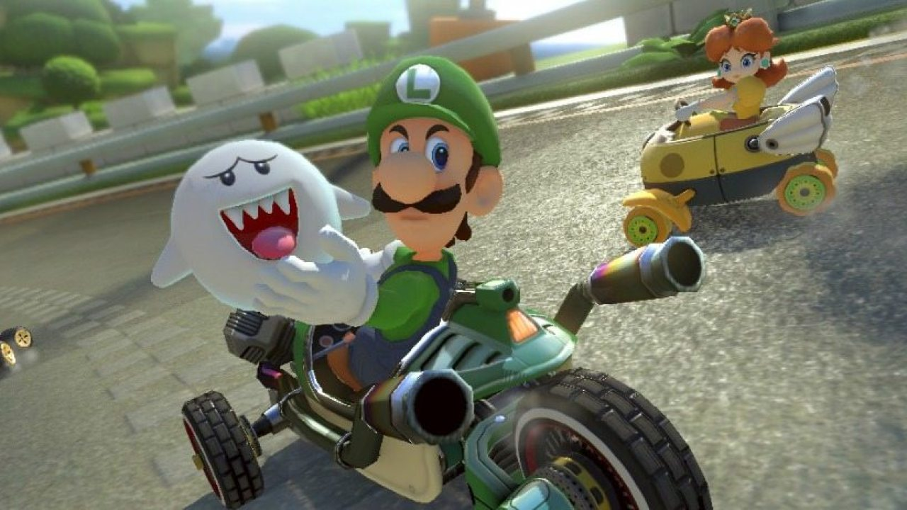 Luigi S Death Stare Returns In Mario Kart 8 Deluxe Pre Order