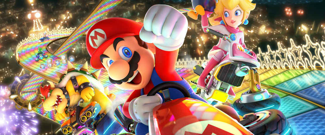 Rainbow Road Voted Best Course In Mario Kart 8 Deluxe