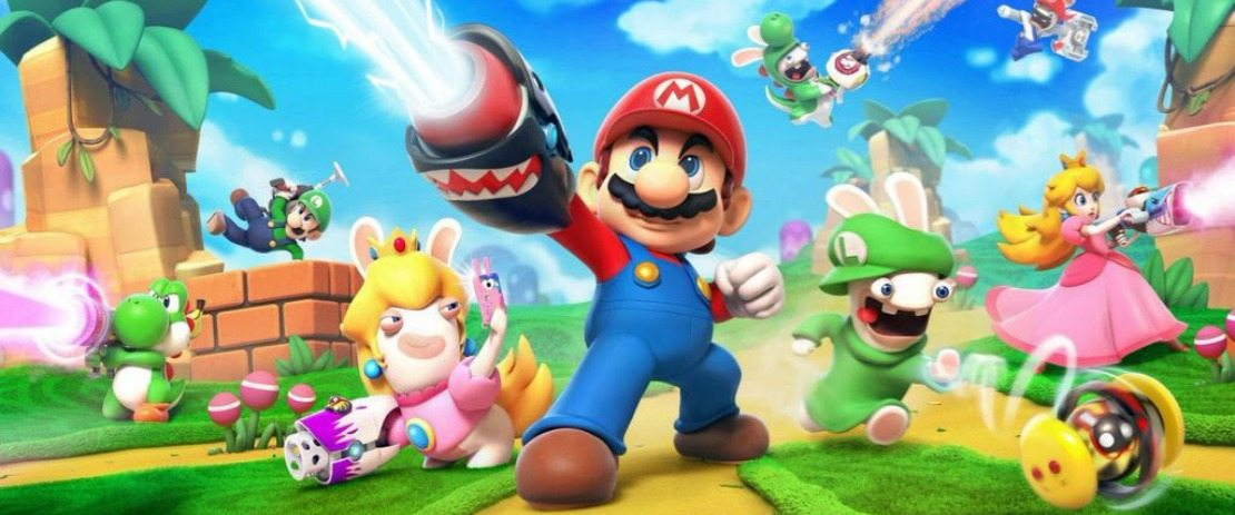 Mario + Rabbids Kingdom Battle Artwork