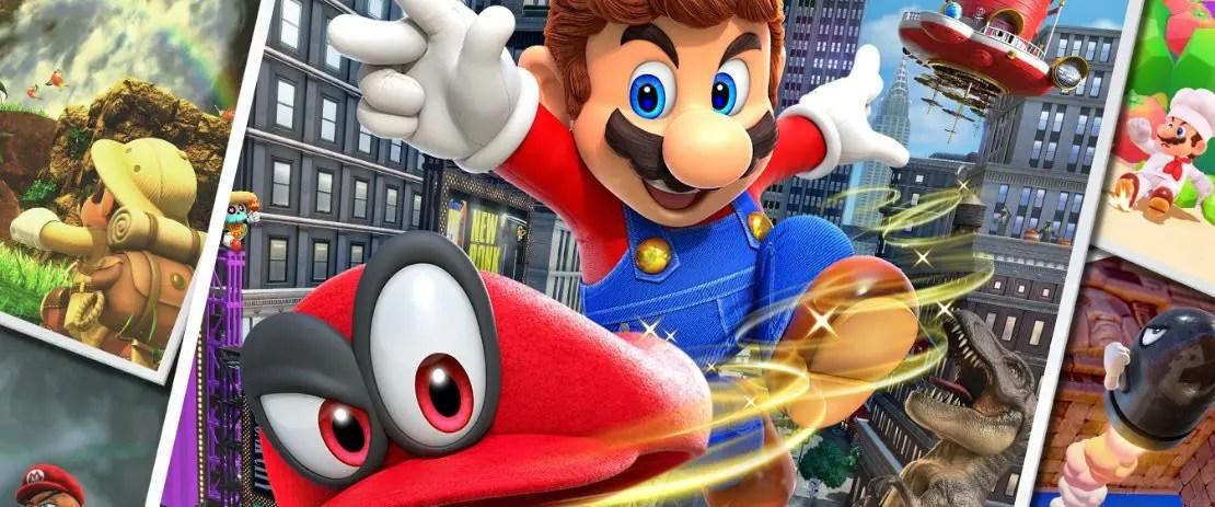 Super Mario Odyssey Pre-Order Bonus Scores Wide-Eyed Cappy