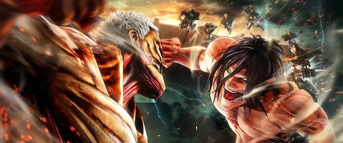 Attack On Titan 2 Key Artwork