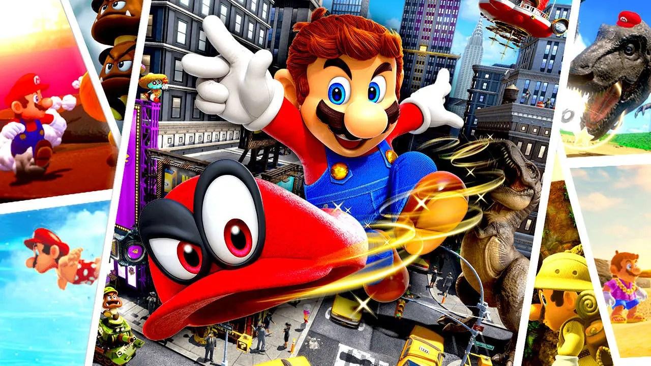 Super Mario Odyssey Review Header