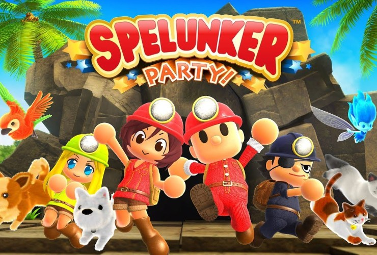 Spelunker Party! Review Header