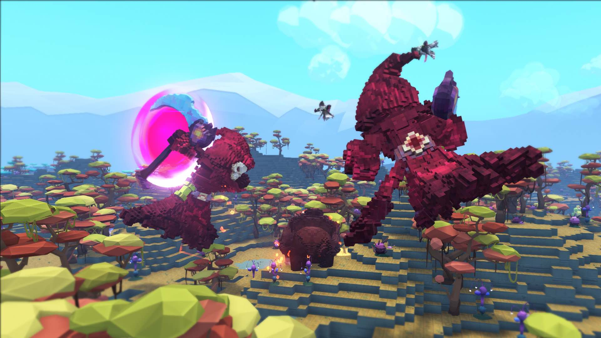 Tame Train And Ride Dinosaurs In PixARK On Nintendo