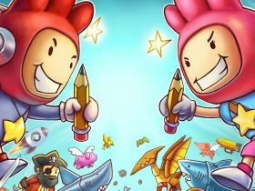 Scribblenauts Showdown Artwork