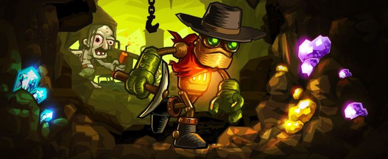 SteamWorld Dig Main Header
