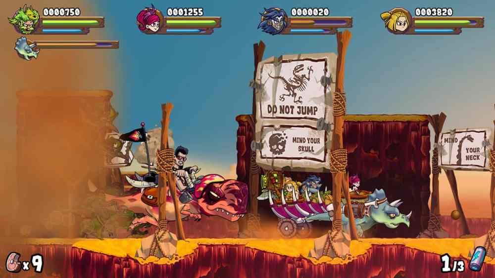 Caveman Warriors Review Screenshot 1