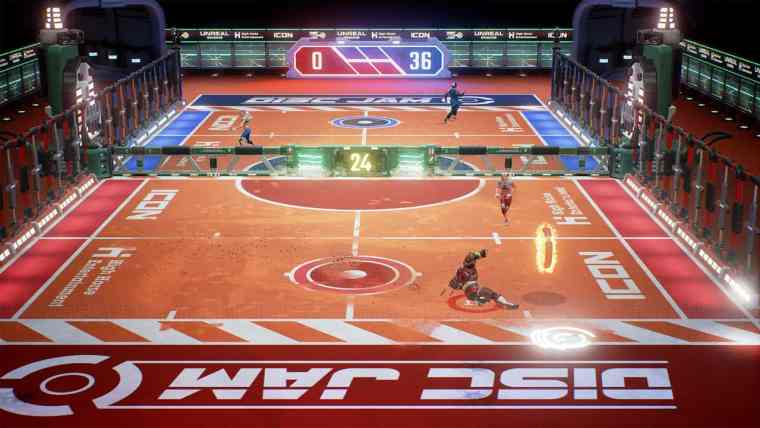 Disc Jam Review Screenshot 1