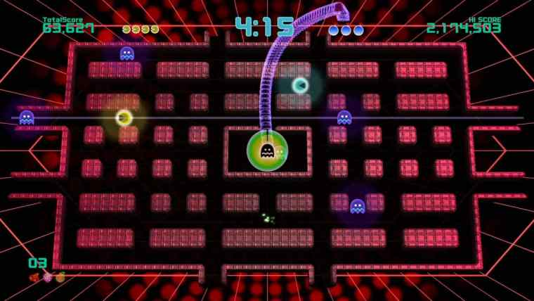 Pac-Man Championship Edition 2 Plus Review Screenshot 1