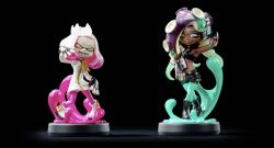 Pearl and Marina amiibo Photo