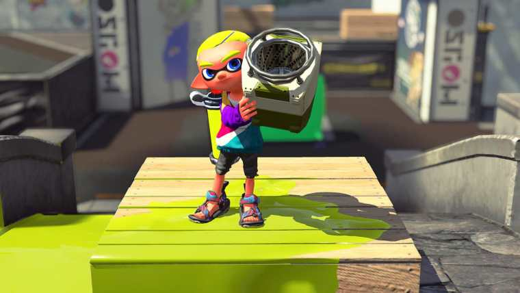 Splatoon 2 Sloshing Machine Neo Screenshot 1