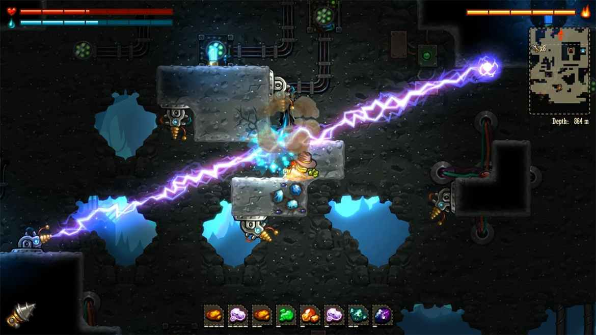SteamWorld Dig Review Switch Screenshot 2