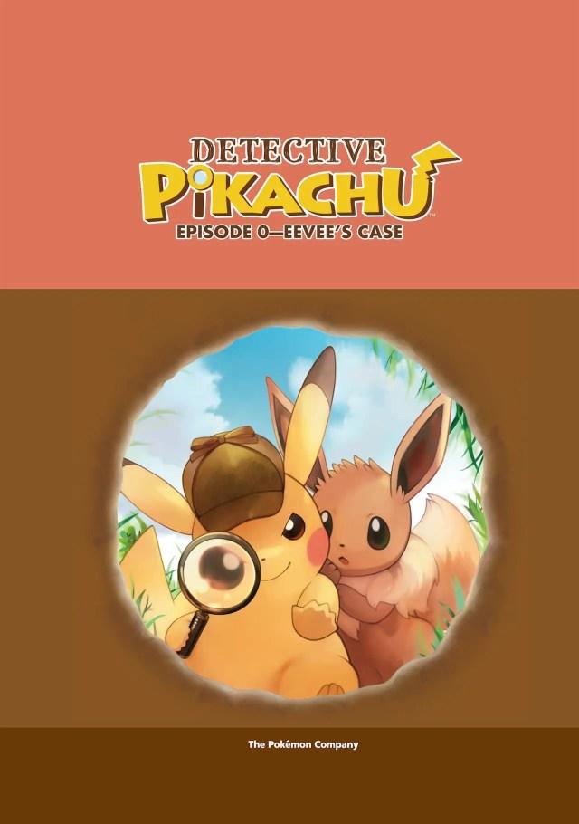 Detective Pikachu: Episode Zero - Eevee's Case Artwork