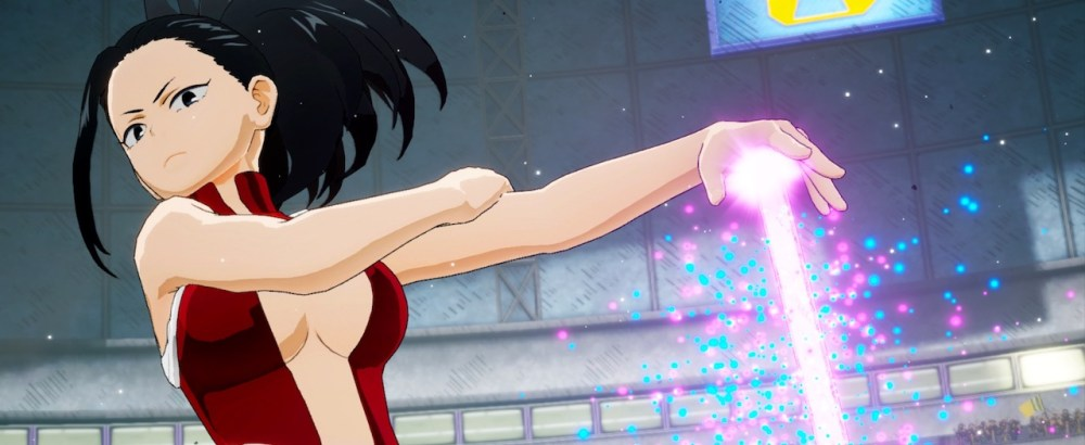 Momo Yaoyorozu My Hero Academia: One's Justice Screenshot