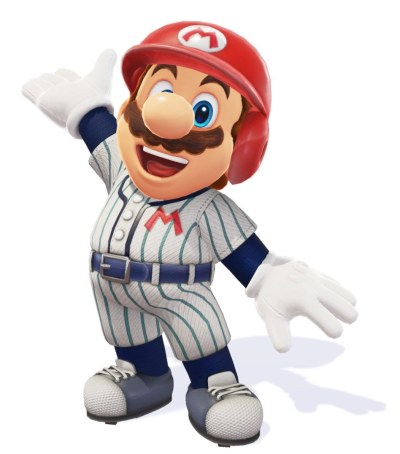 Super Mario Odyssey Baseball Uniform