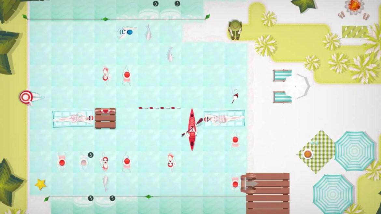 Swim Out Review Screenshot 2